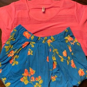 LulaRoe Madison and classic T outfit